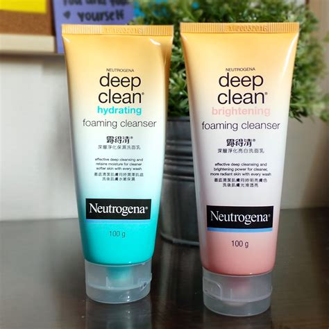 deep clean sponsored review neutrogena deep clean foaming wash