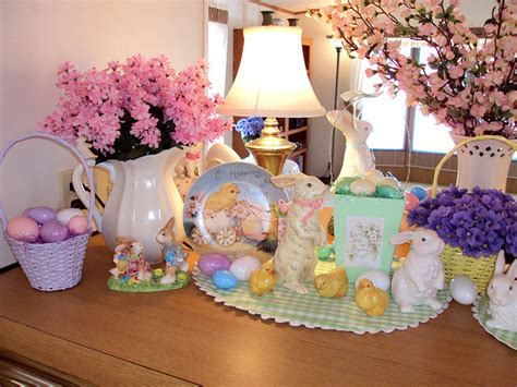 fashionable ideas  decorate  home  easter
