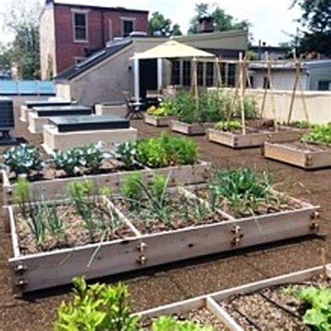 rooftop and vegetable gardens hanselman landscape and