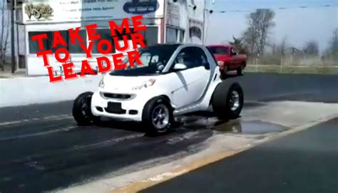 V8 Smart Car by Smart Fortwo From Hell Has A Big Block V8 Autoevolution