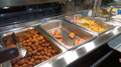 ikea breakfast ikea restaurant dat ikea meatball doe eating with kirby
