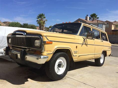 1981 Jeep Wagoneer 1981 Jeep Wagoneer 4x4 W 4 2l Inline 6 258 Ci For Sale In