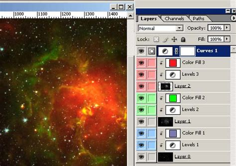 tutorial photoshop layers photoshop for astronomy an introductory tutorial