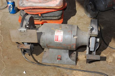 1725 rpm bench grinder dayton commercial bench grinder 1hp single phase 4z911