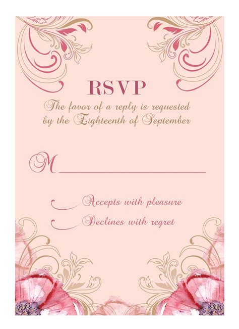 Wedding Invitations Response Cards by Wedding Invitation Response Card Wedding Invitation