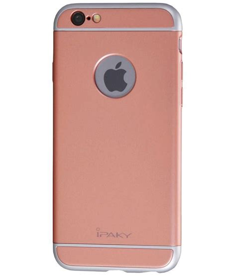 Back Cover Iphone 6 ipaky back cover for apple iphone 6 and 6s pink plain