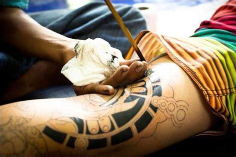 bamboo tattoo or needle lucky bamboo tattoo