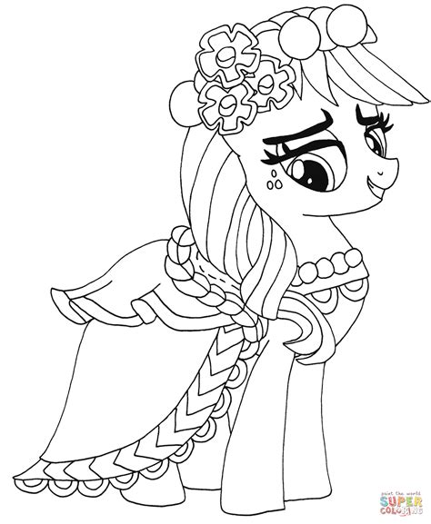 my little pony gala coloring pages kolorowanka my little pony applejack kolorowanki dla