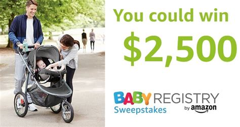 Amazon Baby Registry Gift Card - amazon baby registry sweepstakes 2018