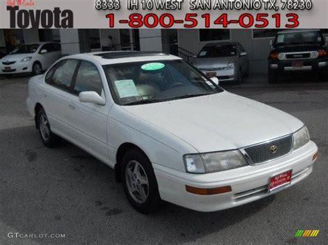 1997 Toyota Avalon Xls 1997 White Toyota Avalon Xls 60624675 Gtcarlot