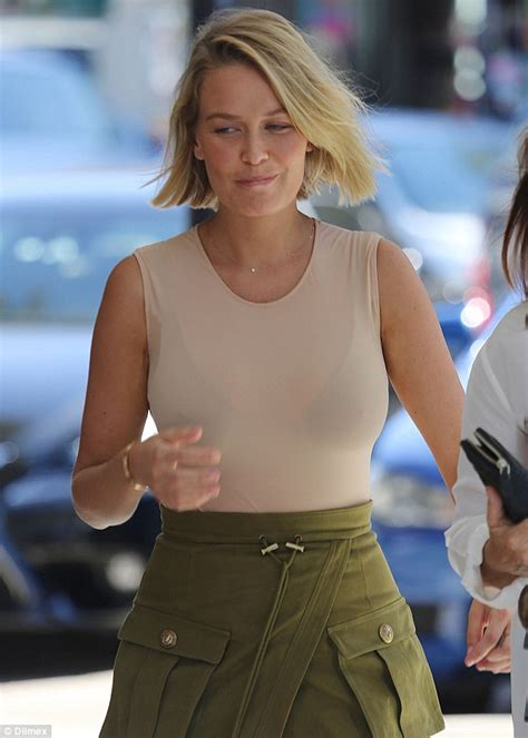 Lala Shirt Dress Point One lara bingle shows barely any signs of a rumoured pregnancy