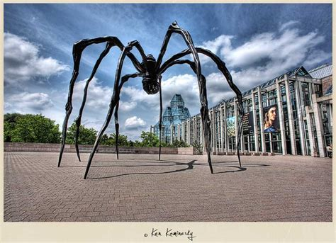 Maman by Louise Bourgeois at the National Gallery in