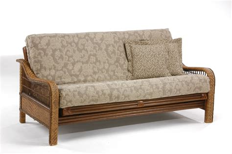 futon furniture orchid rattan futon frame by night day furniture