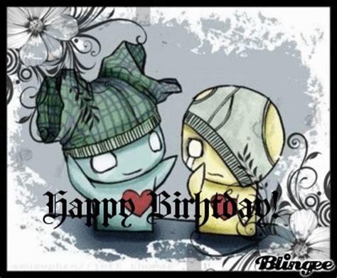 happy birthday cartoon emo mp3 download happy birthday emo ver picture 78190887 blingee com