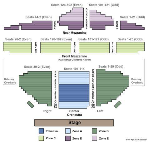ambassador theater seating chart labatt centre seating chart car interior design
