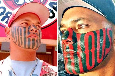 face tattoo gangster struggles  find  job daily star