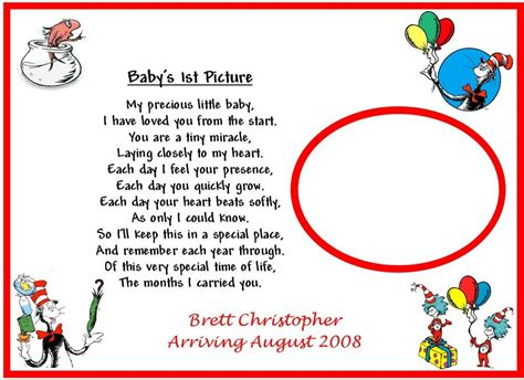 Dr Seuss Baby Shower Poems by 1st Baby Picture Dr Seuss Poems Search Baby