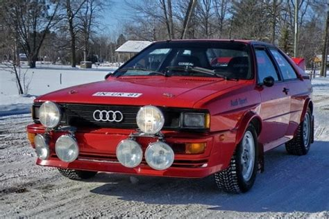 Audi Rally Car For Sale by The Right Mods 1981 Audi Ur Quattro Coupe Bring A Trailer