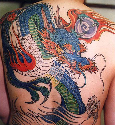 colorful dragon tattoo designs 22 unique japanese tattoos designs