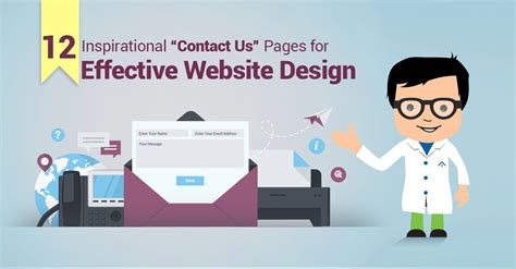 effect website design 12 inspirational contact us pages for effective website