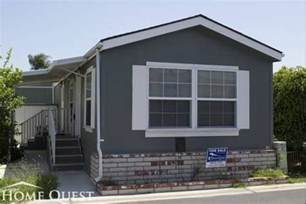 mobile home colors mobile home gray exterior color with white trims