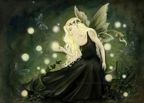 fairy magyk ecards janna prosvirina wisp