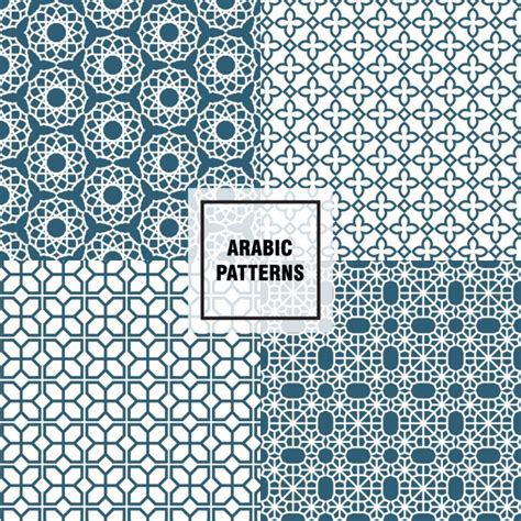 arabic pattern ai elegant arabic patterns vector free download