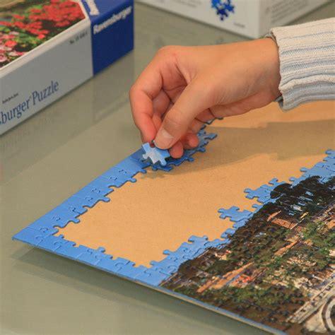 cornici per puzzle ravensburger mira kunststoff puzzlerahmen f 252 r 1000 teile 37 5x98 cm