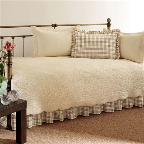 daybed bedding sets for trellis plaid 5 pc daybed bedding set
