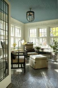 sunroom colors design megillah painted ceilings