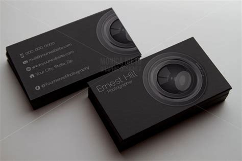 Printable Photography Business Card Template Photographer Card Templates For Photographers 2014