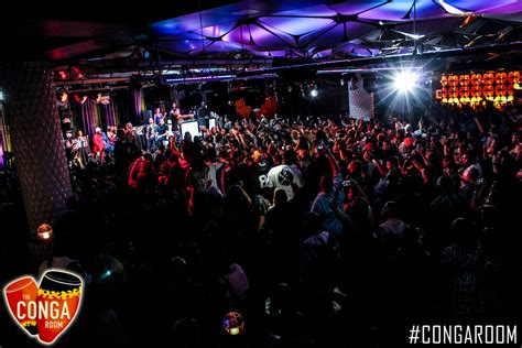 Conga Room Los Angeles by Hip Hop S Finest Show Up To Toast Big Boy At The Conga Room