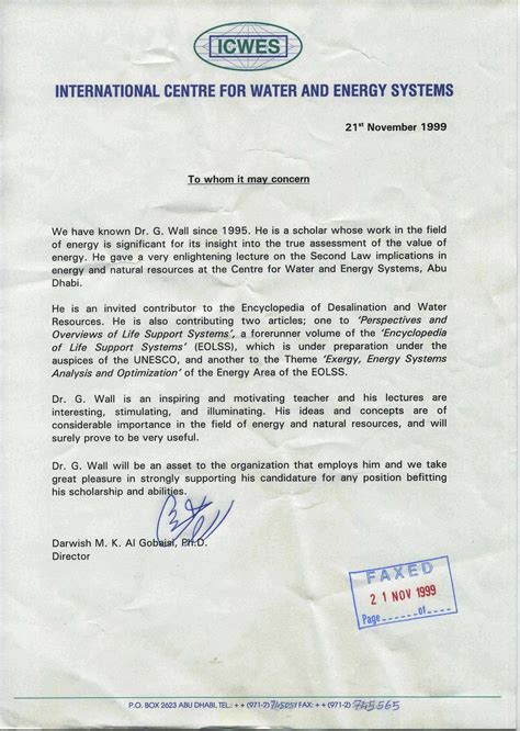 Reference Letter Phd recommendation letter for phd student from professor
