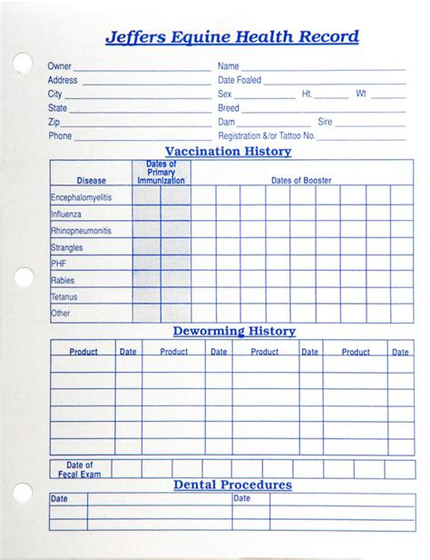Printable Pet Vaccination Record Forms   Dog Breeds Picture