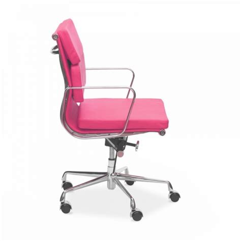 Pink Office Chair Design Ideas Eames Style Pink Back Soft Pad Office Chairs Cult Uk