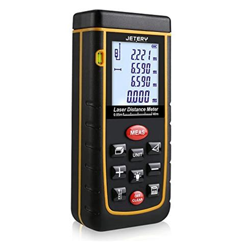 40m to feet jetery 40m 0 16 to 131 feet professional laser measure