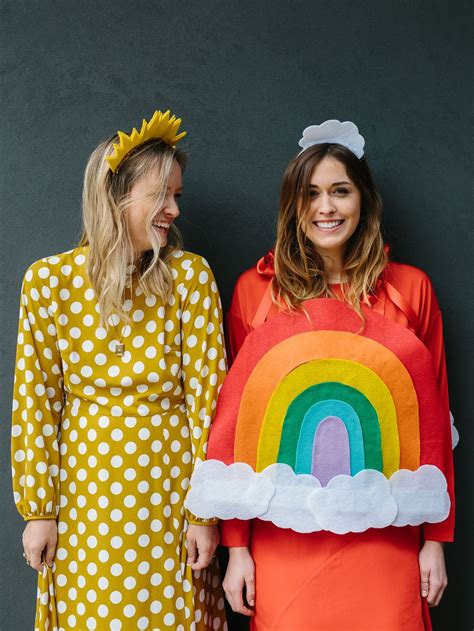 easiest halloween costume diy  besties  rainbow