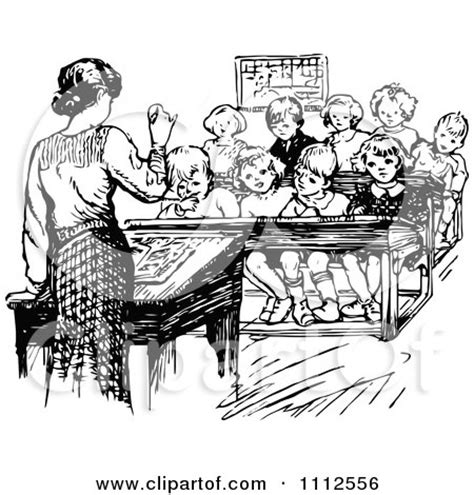 the english teacher vintage royalty free rf retro clipart illustrations vector graphics 1