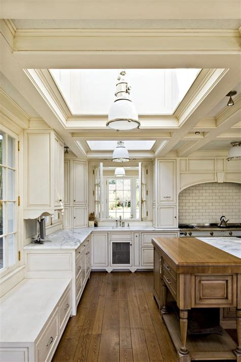 15 incredibly airy kitchen designs with skylights rilane