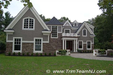 exterior decorative trim for homes exterior trim traditional exterior by trim team nj