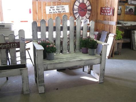 picket fence bench i want a fence bench for my backyard welcome home