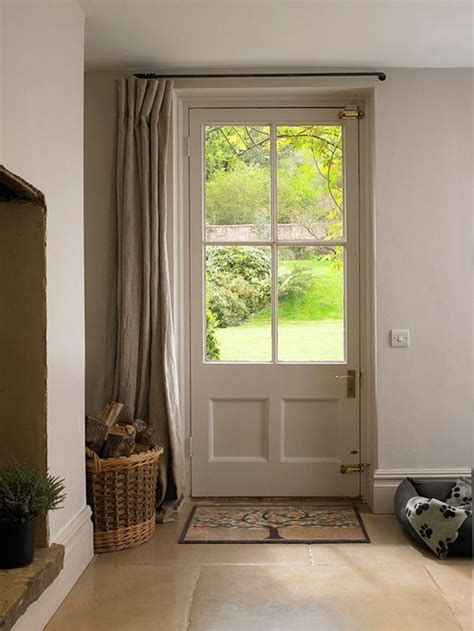 curtains for drafty windows 26 interior designs with country decor messagenote