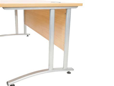 New Office Desk by Endurance Wave Desk Light Oak City Used Office Furniture