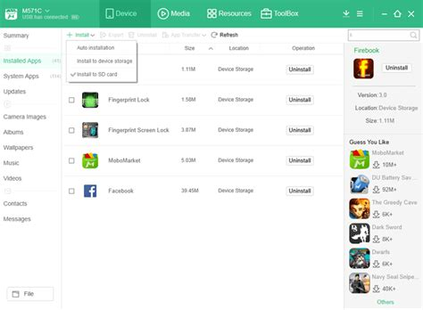 make apps install on sd card how to move apps to sd card with moborobo