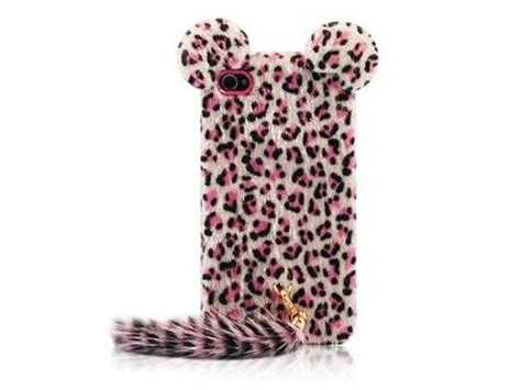 Soft Pink Leopard For Iphone 5c T0310 1 out this superior pink 3d plush leopard tpu cover skin for iphone 4 4s 5 5s