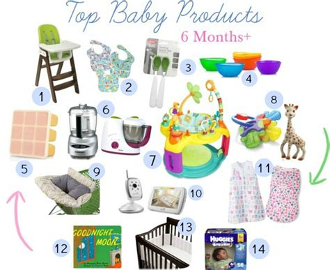 7 Must Haveb Aby Accessories by Baby Must Haves 6 Months Eat Drink