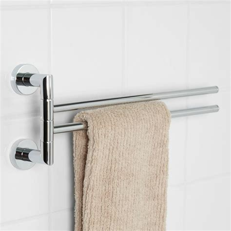 Bristow Showers by Bristow Swing Arm Towel Bar Powder Hardware And