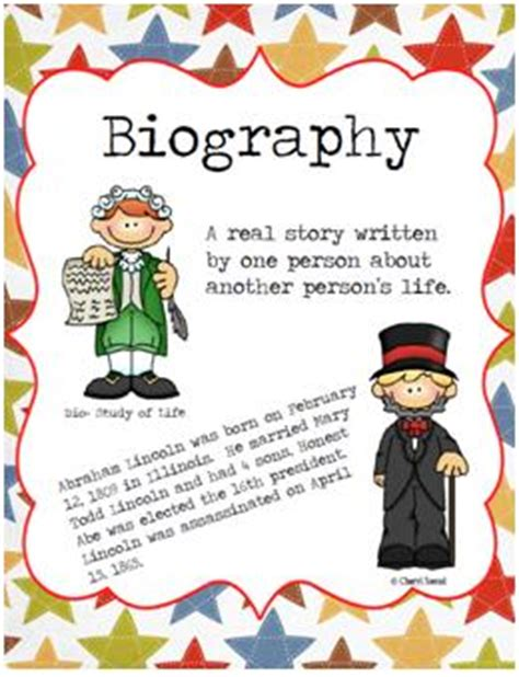 biography contoh biography freebie social studies school and language arts