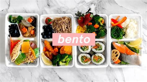 new year lunch ideas 4 ways healthy japanese bento box lunch ideas meal prep