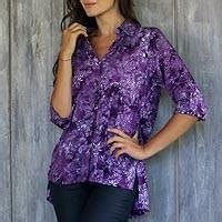 Blouse Batik 127 kiva fashion